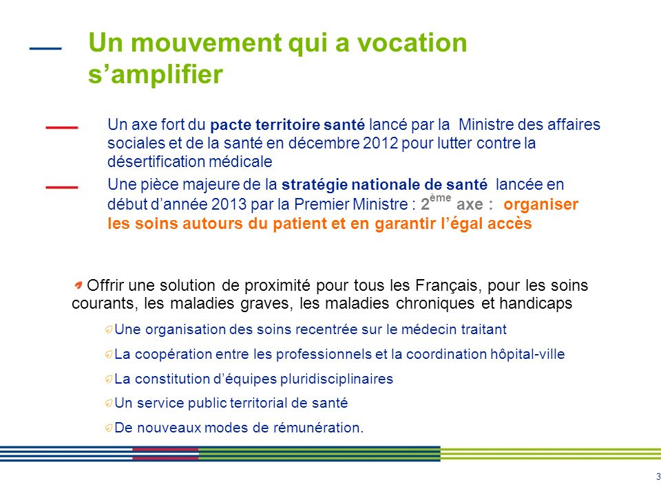 Un mouvement qui a vocation s'amplifier