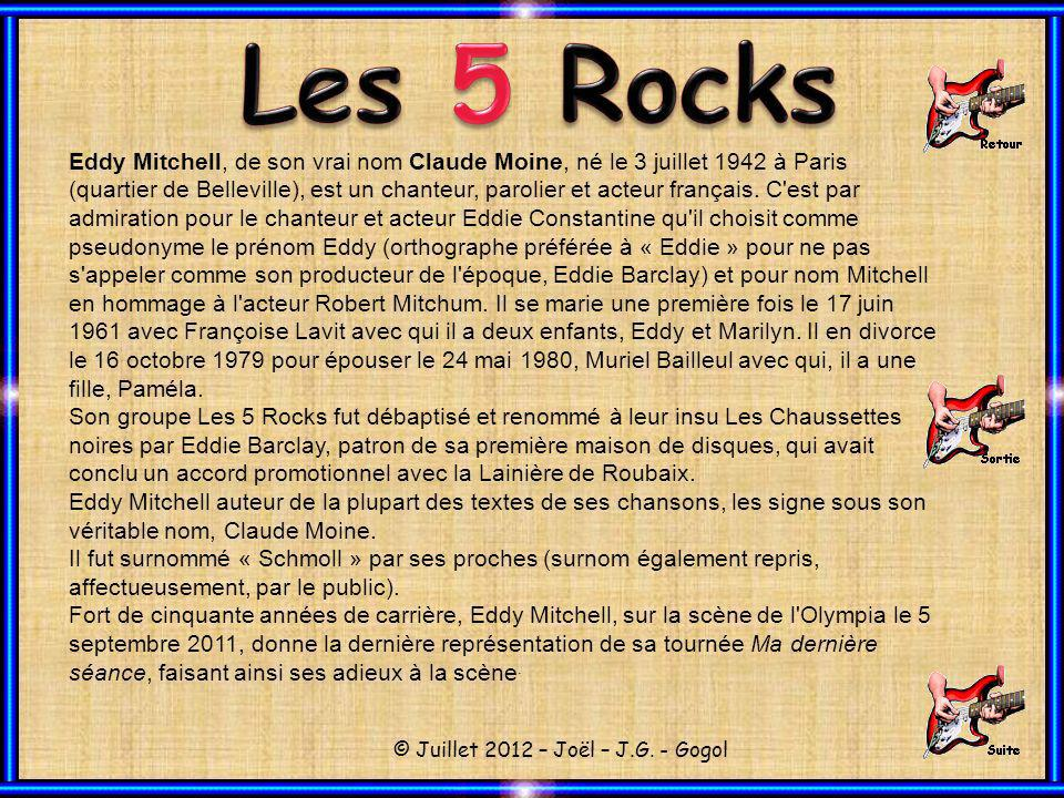 Les 5 Rocks