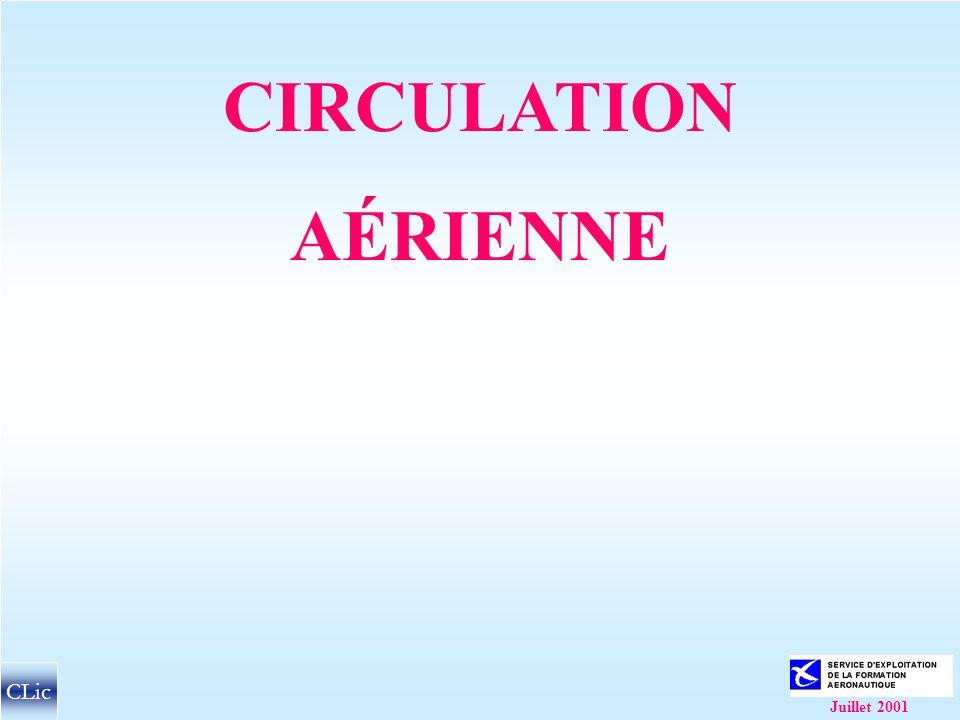 CIRCULATION AÉRIENNE CLic Juillet 2001