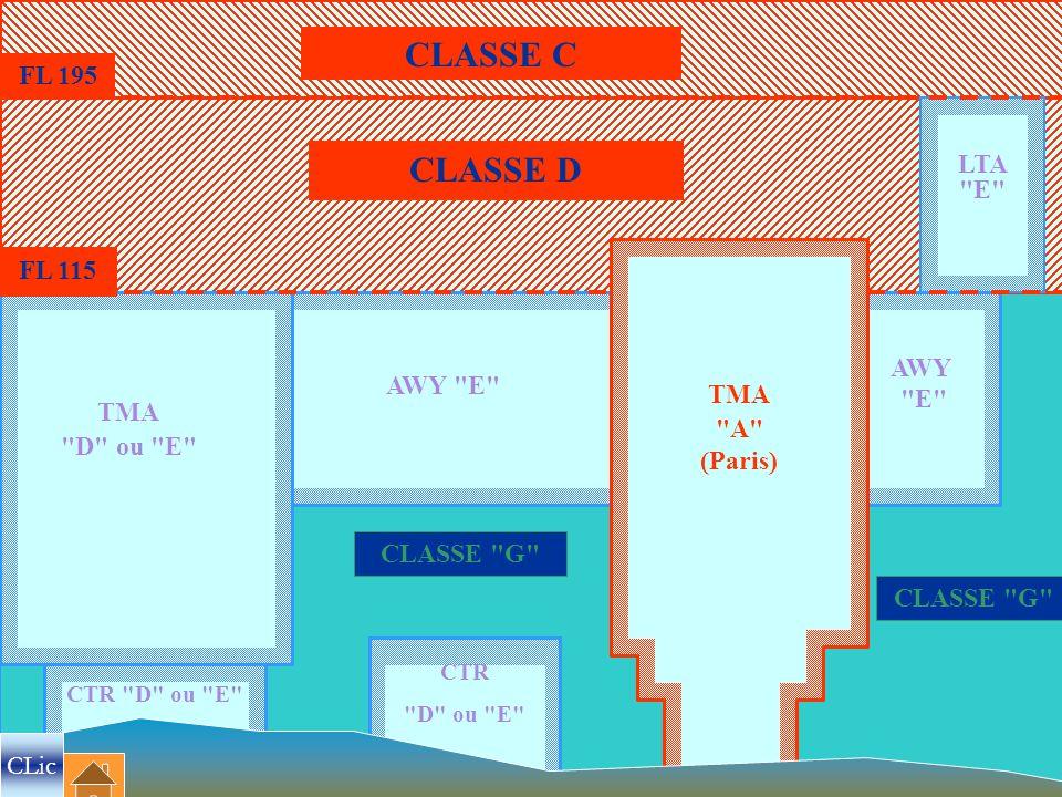 CLASSE C CLASSE D FL 195 LTA E FL 115 AWY AWY E E TMA TMA A
