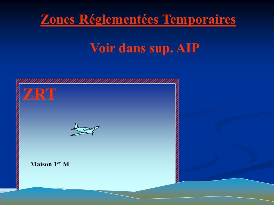 Zones Réglementées Temporaires