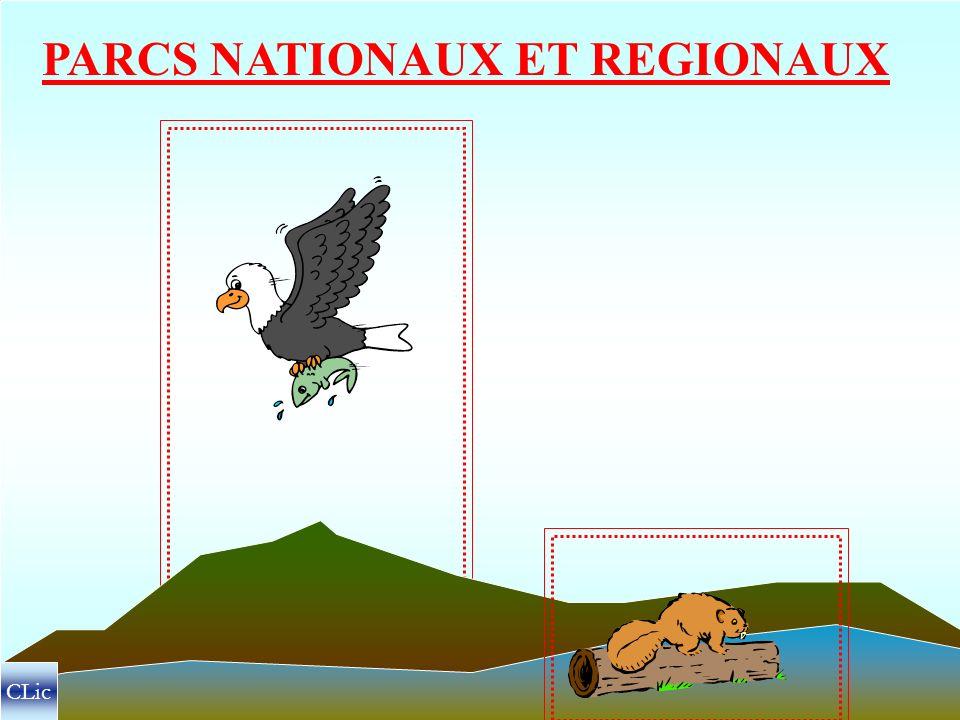 PARCS NATIONAUX ET REGIONAUX