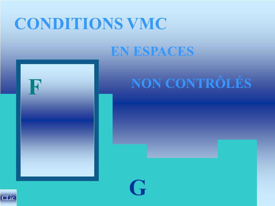 CONDITIONS VMC EN ESPACES F NON CONTRÔLÉS G CLic