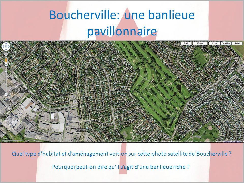 Boucherville: une banlieue pavillonnaire