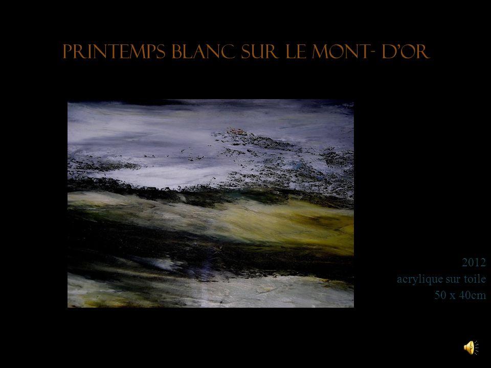 Printemps blanc sur le Mont- d'Or