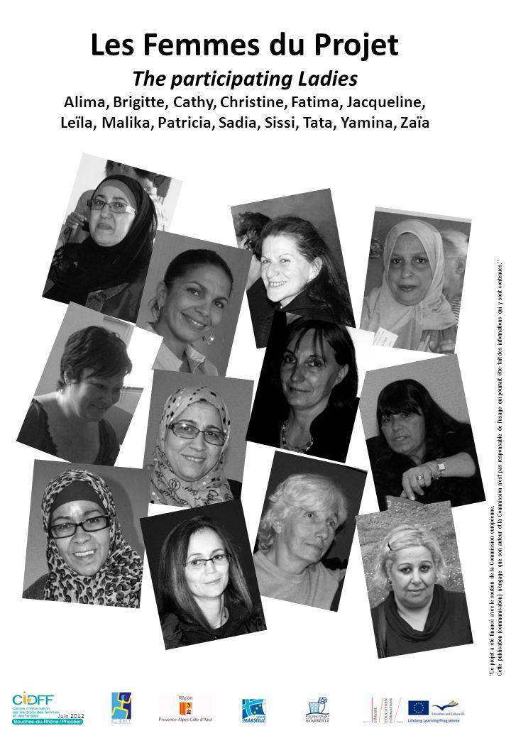 The participating Ladies