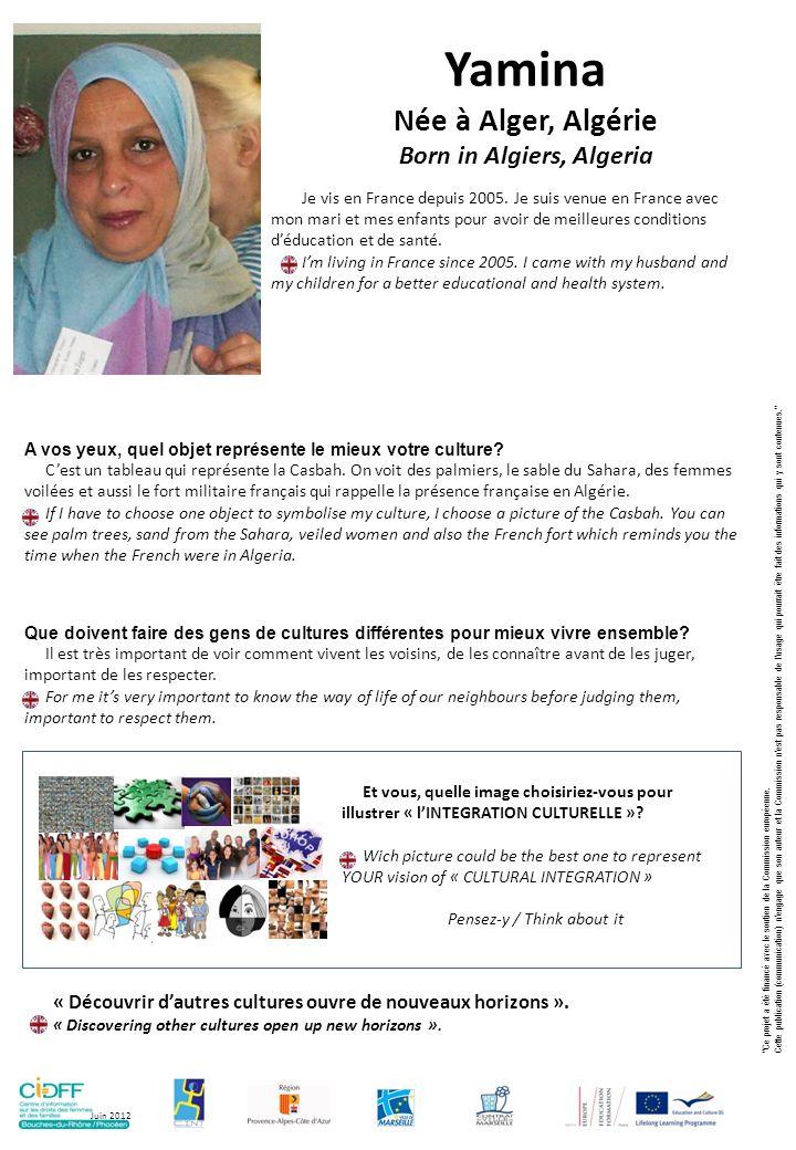 Born in Algiers, Algeria