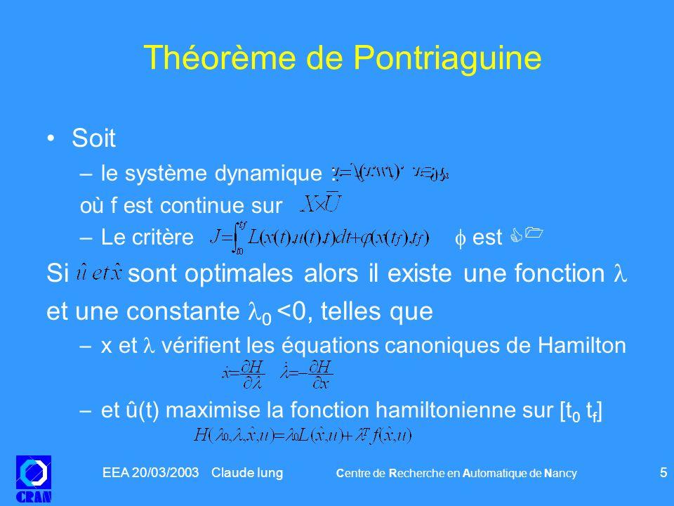 Théorème de Pontriaguine