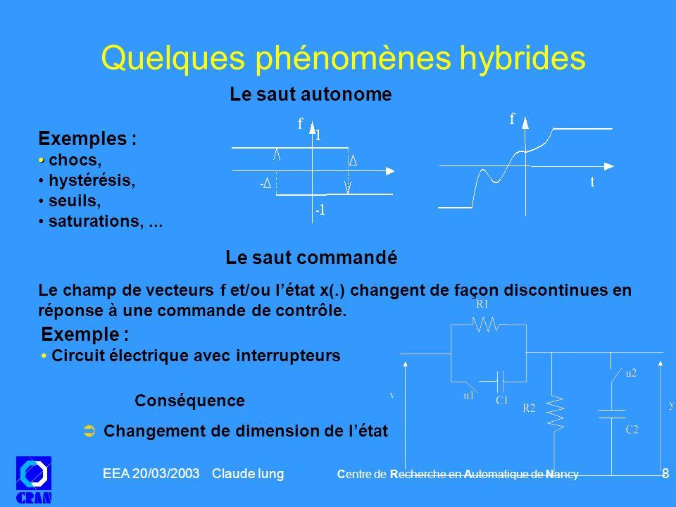 Quelques phénomènes hybrides