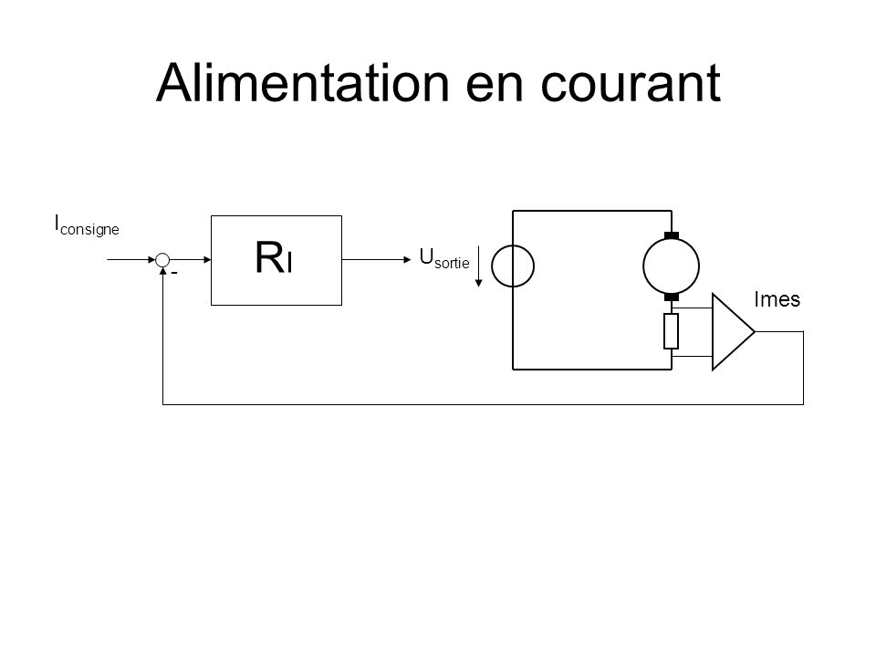 Alimentation en courant