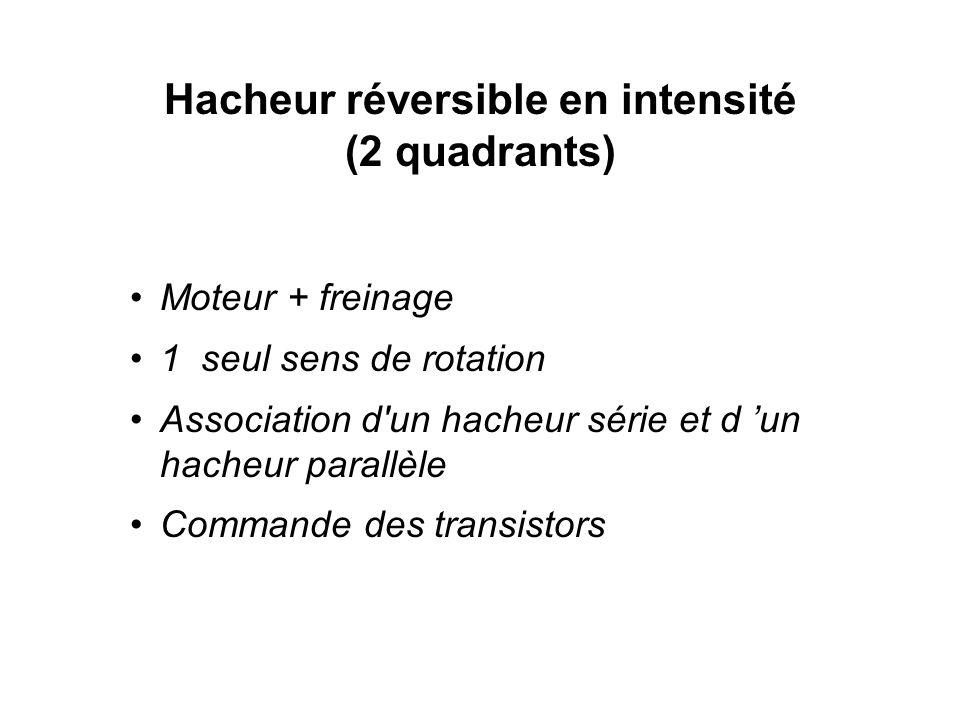 Hacheur réversible en intensité (2 quadrants)