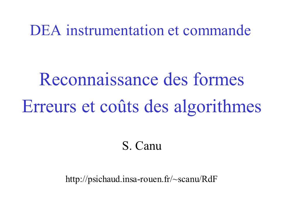 DEA instrumentation et commande