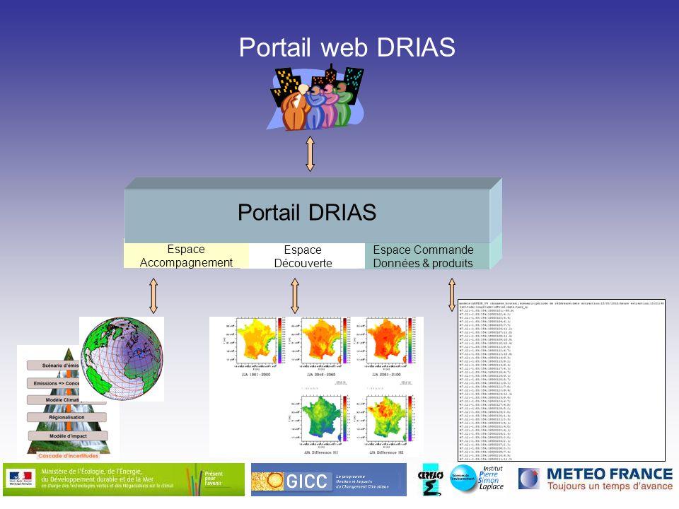 Portail web DRIAS Portail DRIAS Espace Accompagnement Espace