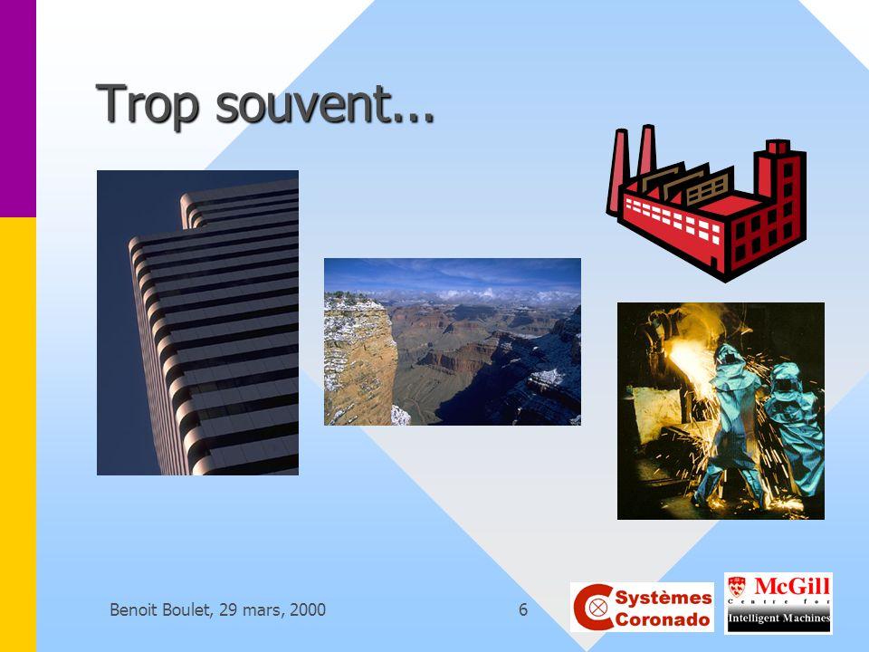 Trop souvent... Benoit Boulet, 29 mars, 2000
