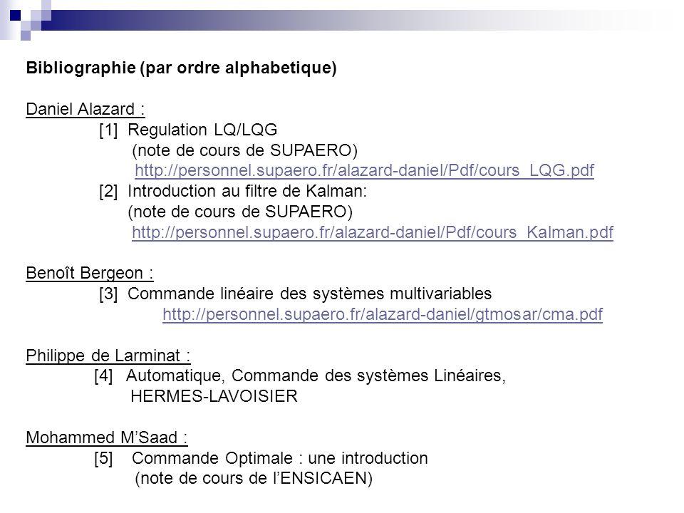 Bibliographie (par ordre alphabetique)