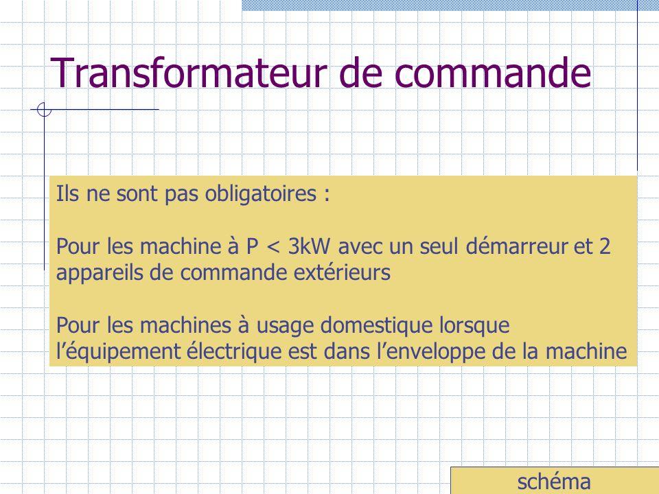 Transformateur de commande