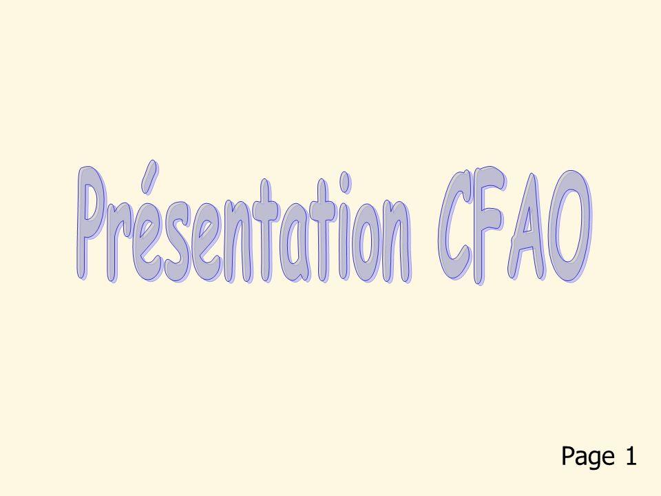 Présentation CFAO Page 1