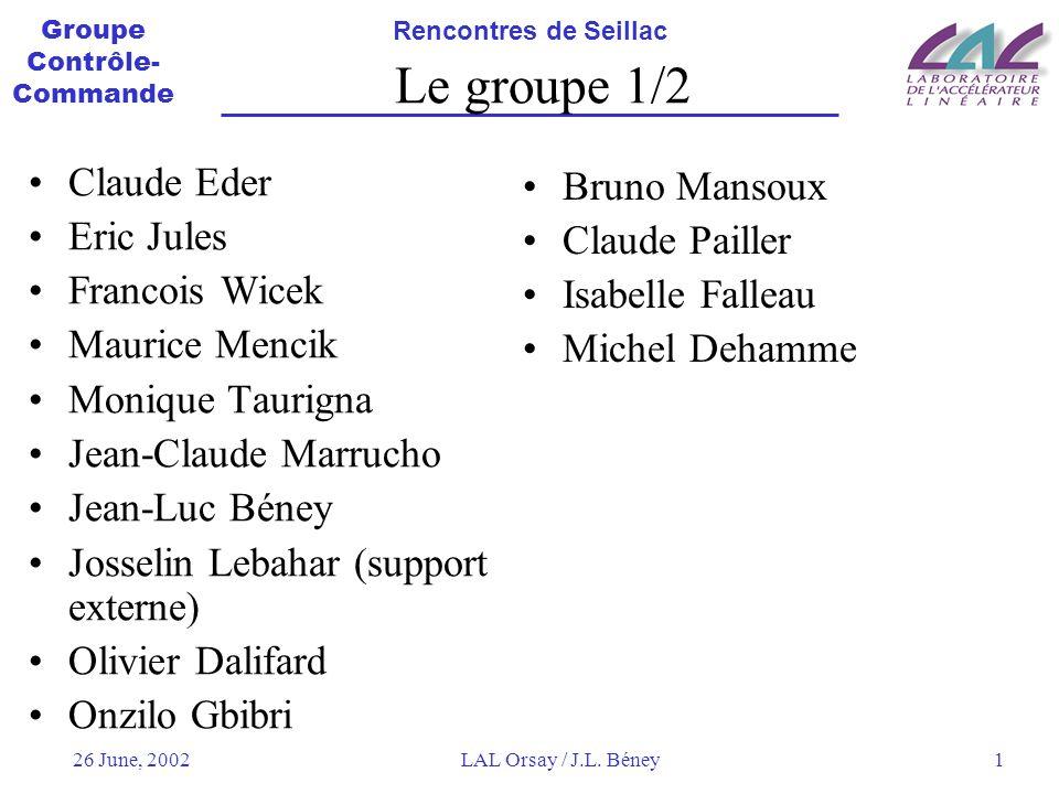 Le groupe 1/2 Claude Eder Bruno Mansoux Eric Jules Claude Pailler