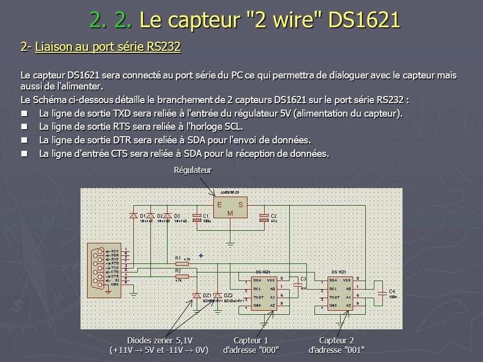 Diodes zener 5,1V (+11V  5V et -11V  0V)