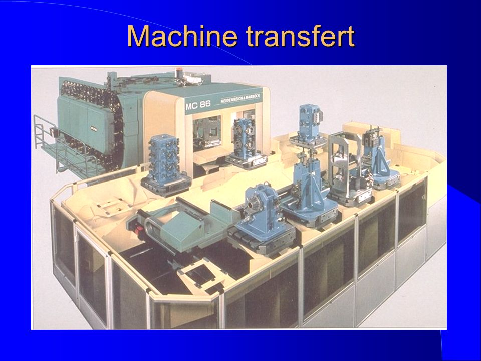 Machine transfert