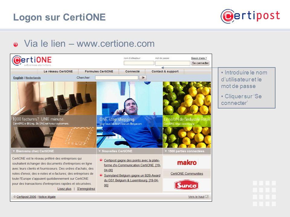 Via le lien – www.certione.com