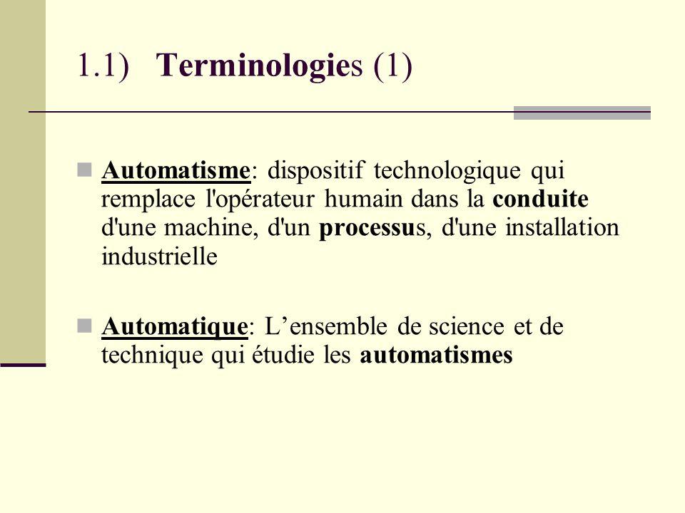 1.1) Terminologies (1)