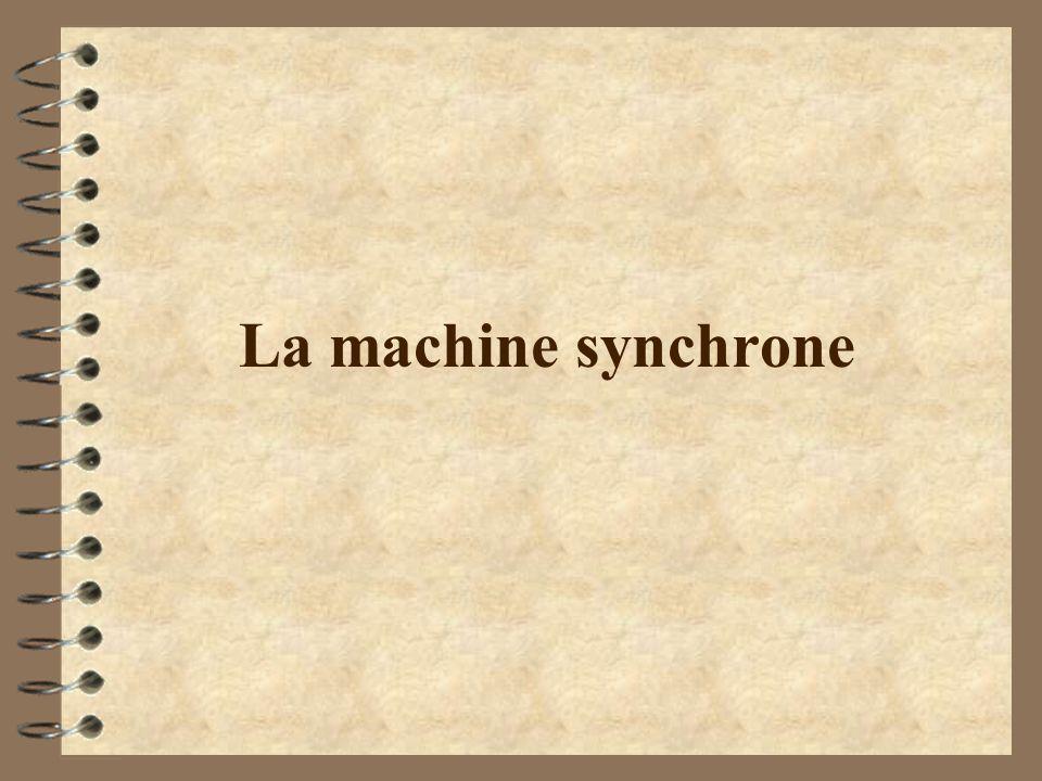 La machine synchrone
