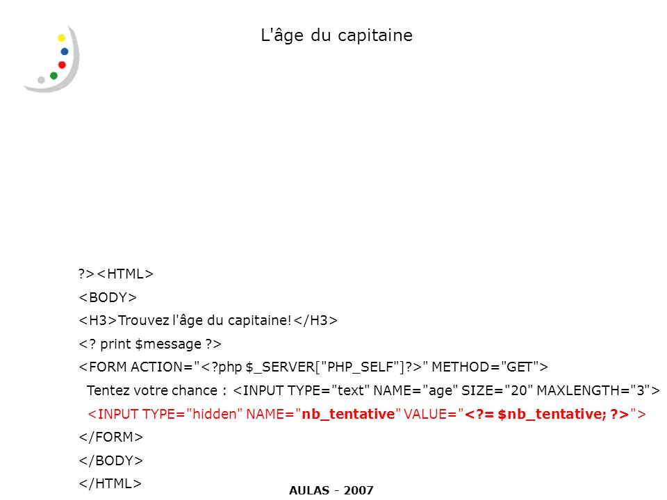 L âge du capitaine ><HTML> <BODY>