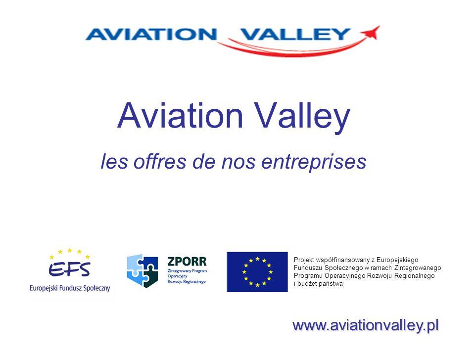 Aviation Valley les offres de nos entreprises