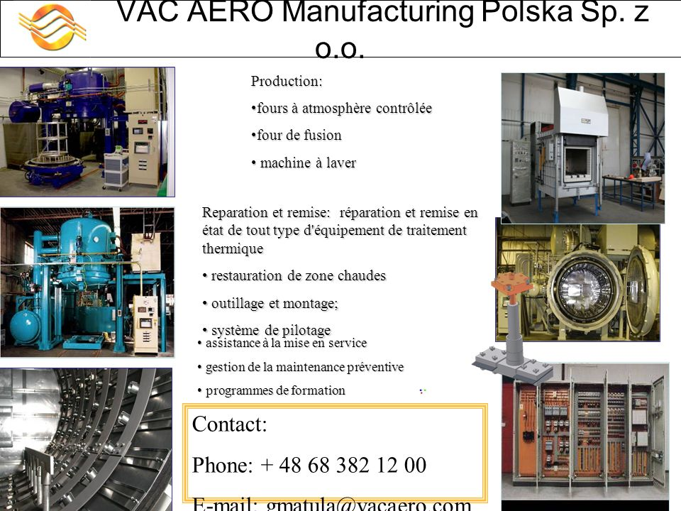 VAC AERO Manufacturing Polska Sp. z o.o.