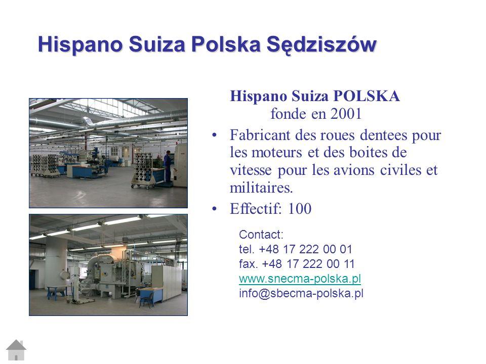 Hispano Suiza Polska Sędziszów