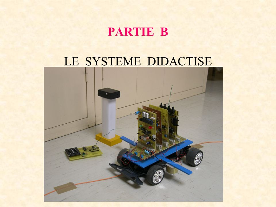 PARTIE B LE SYSTEME DIDACTISE