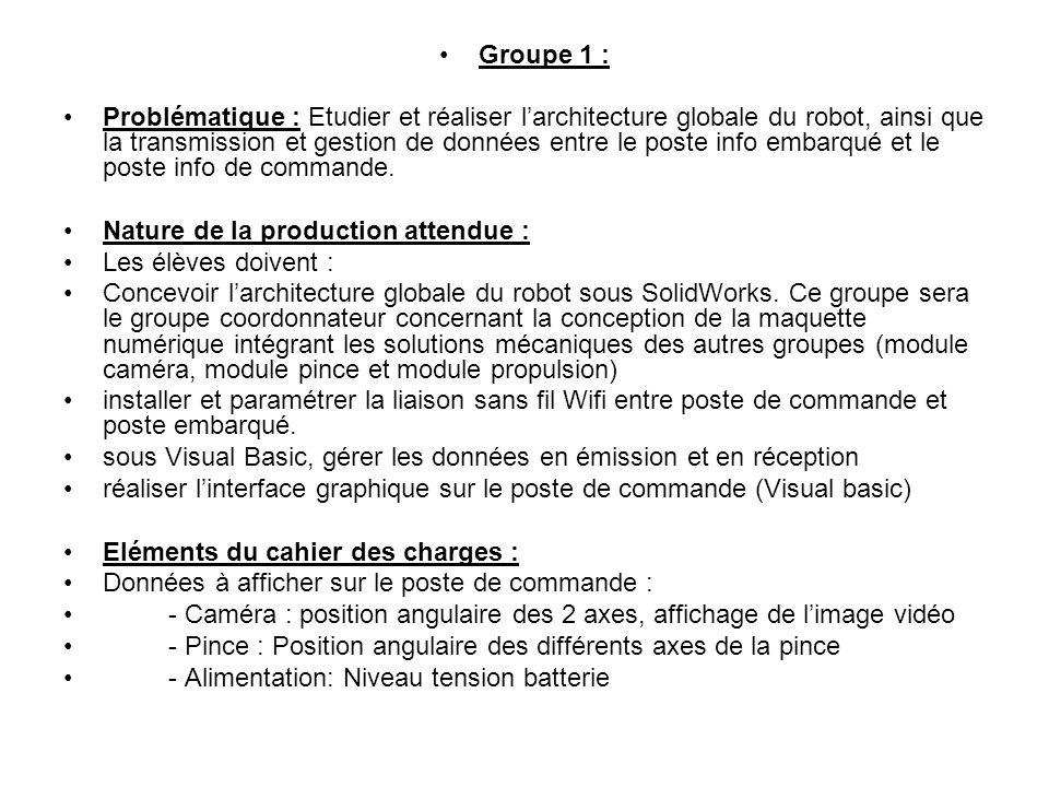 Groupe 1 :