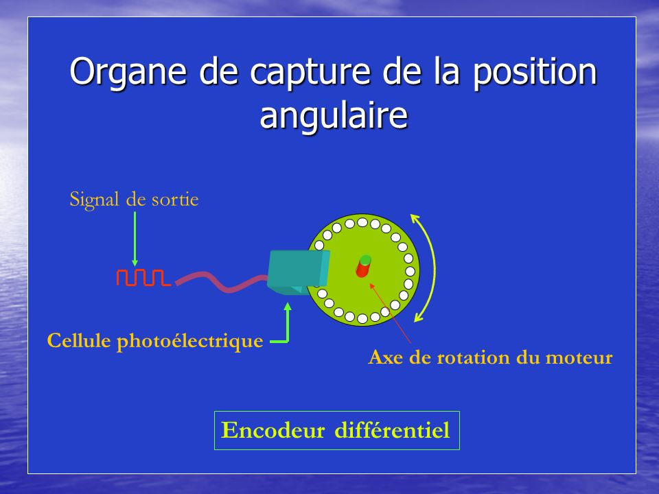 Organe de capture de la position angulaire