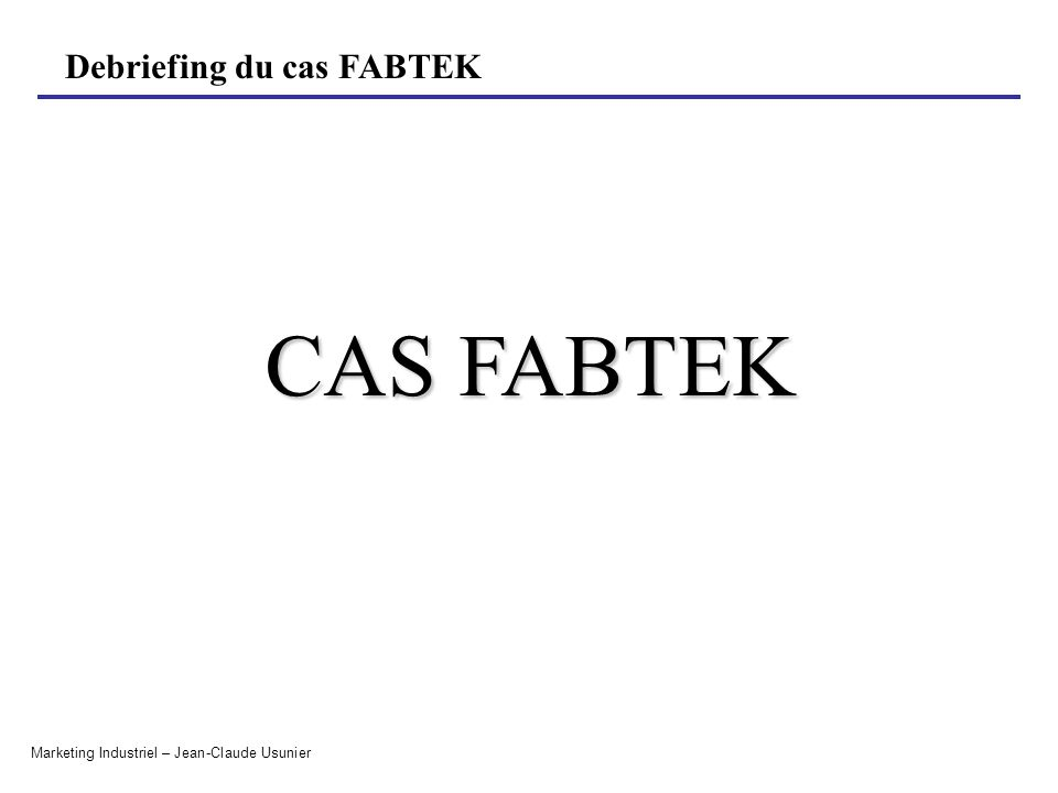 CAS FABTEK