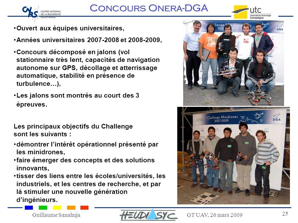 Concours Onera-DGA Ouvert aux équipes universitaires,