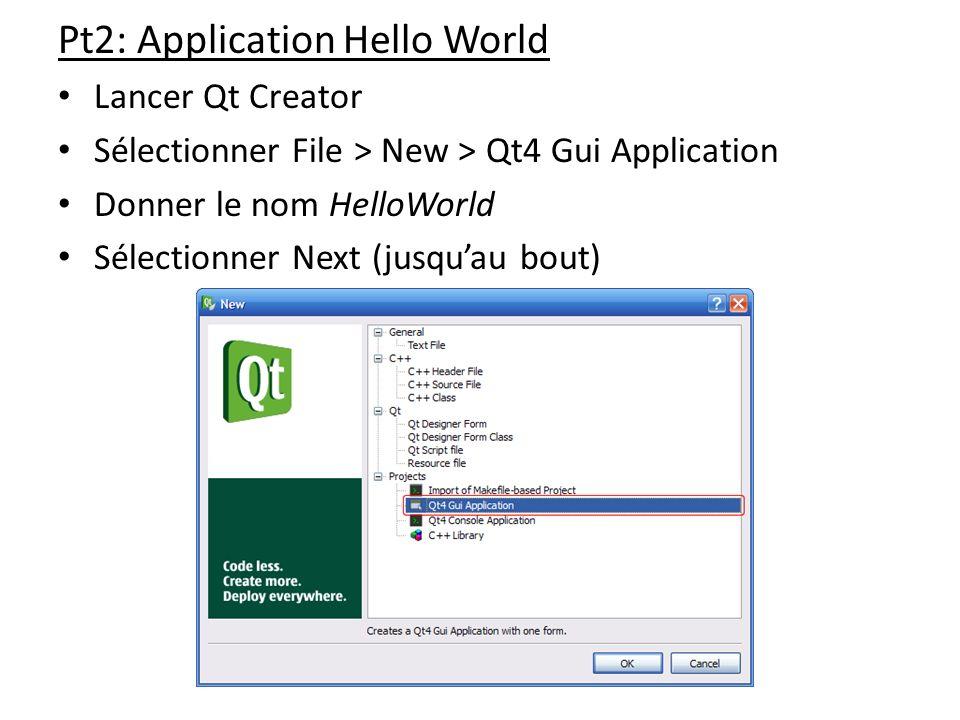 Pt2: Application Hello World