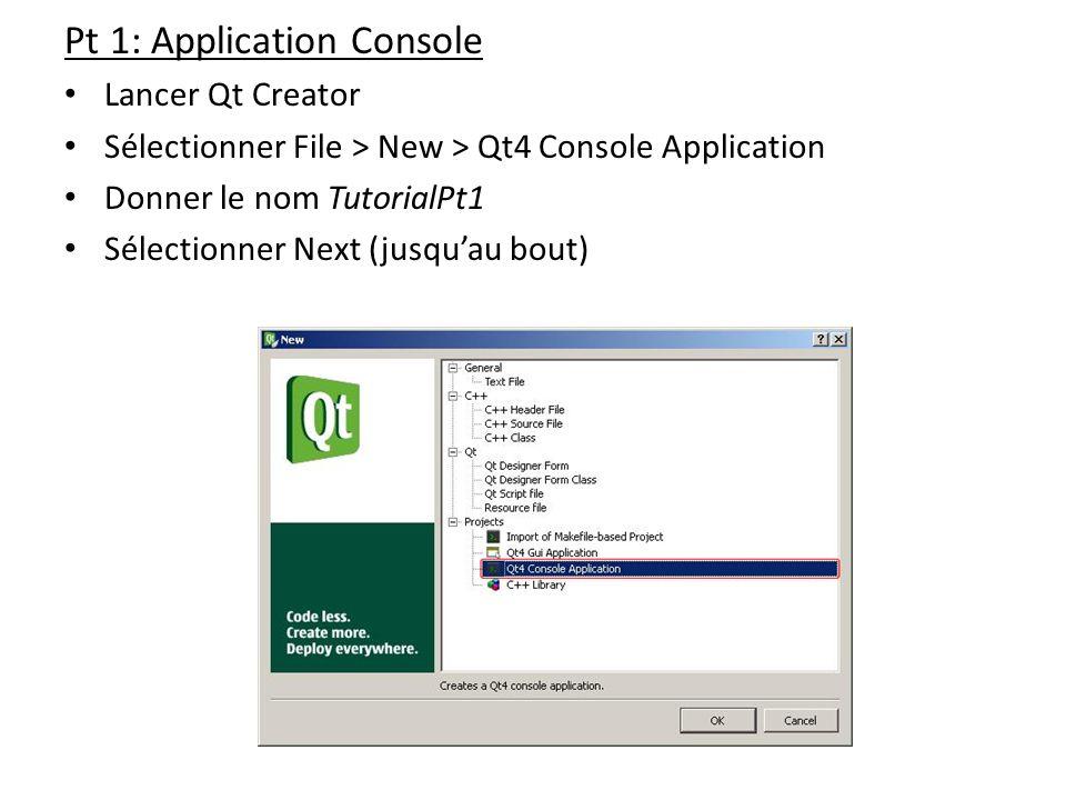 Pt 1: Application Console