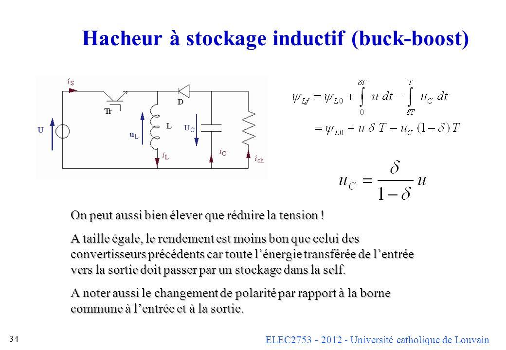 Hacheur à stockage inductif (buck-boost)