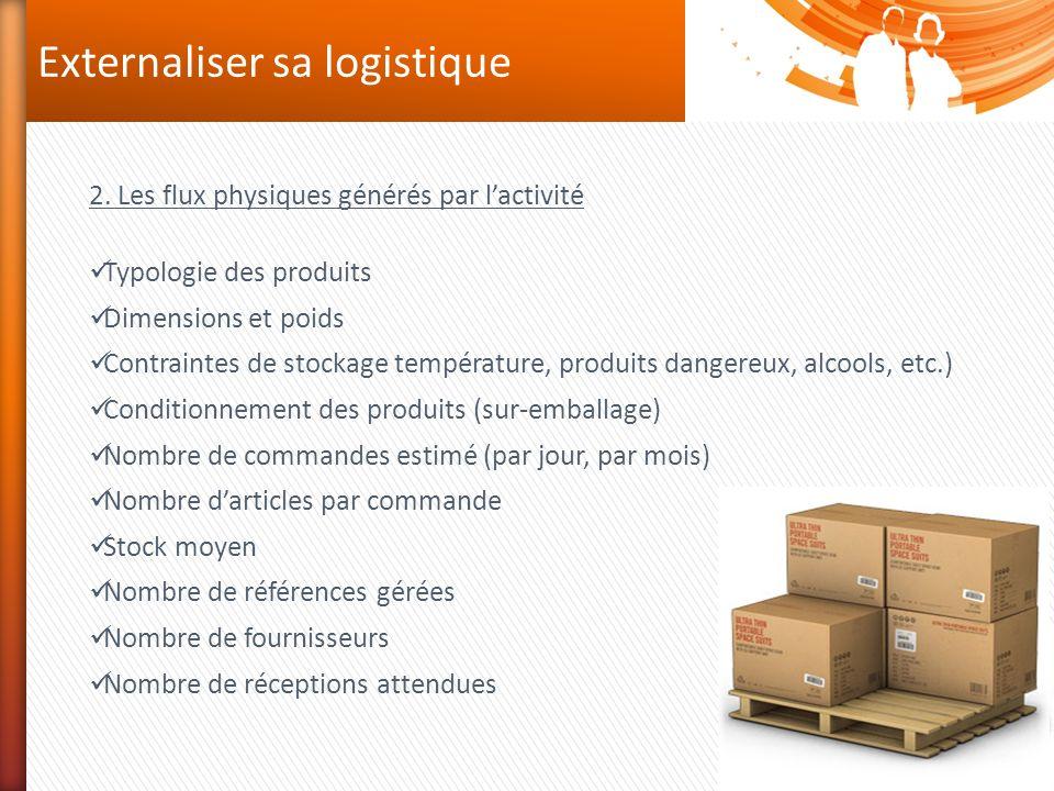 Externaliser sa logistique