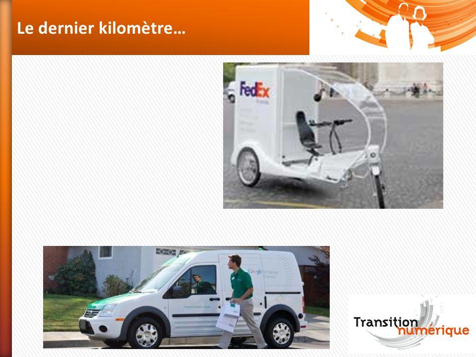 Le dernier kilomètre… Attention aux innovations qui bouleversent la logistique en 2013 :