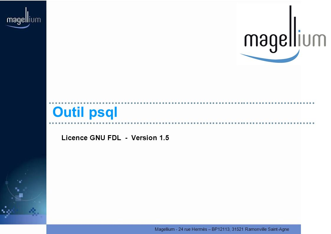 Licence GNU FDL - Version 1.5