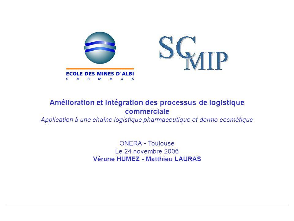 Amélioration et intégration des processus de logistique commerciale