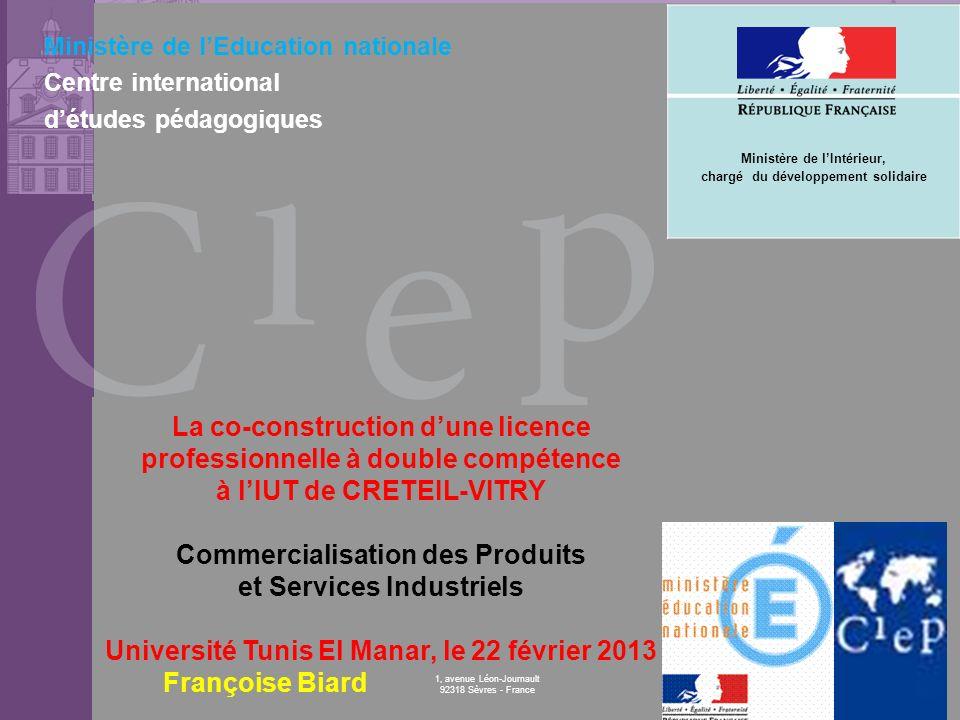 Commercialisation des Produits et Services Industriels