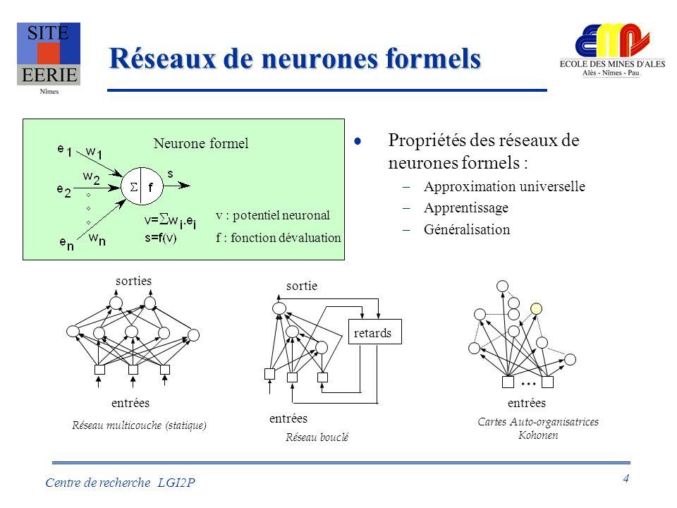 Réseaux de neurones formels