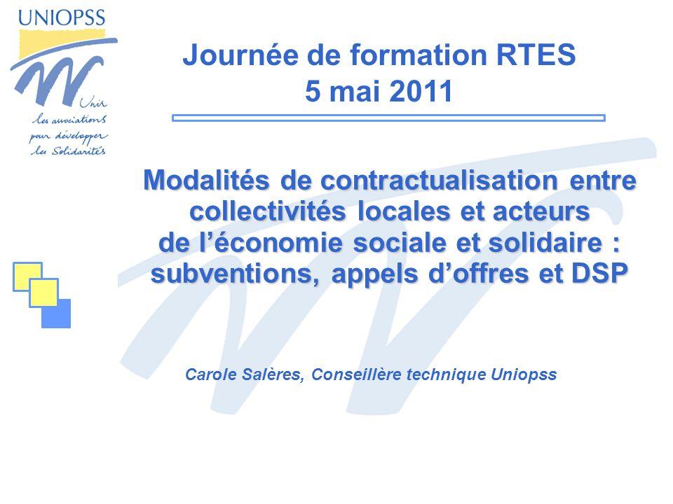 Carole Salères, Conseillère technique Uniopss