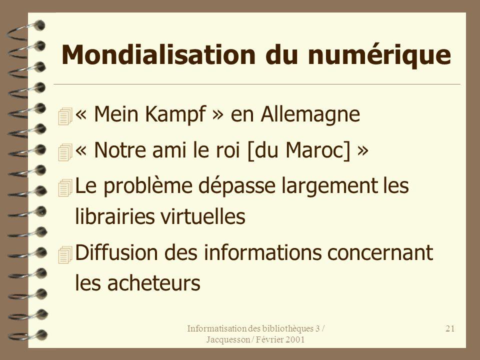 Mondialisation du numérique