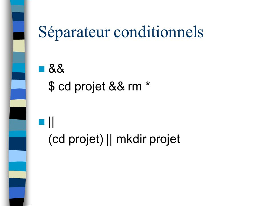 Séparateur conditionnels