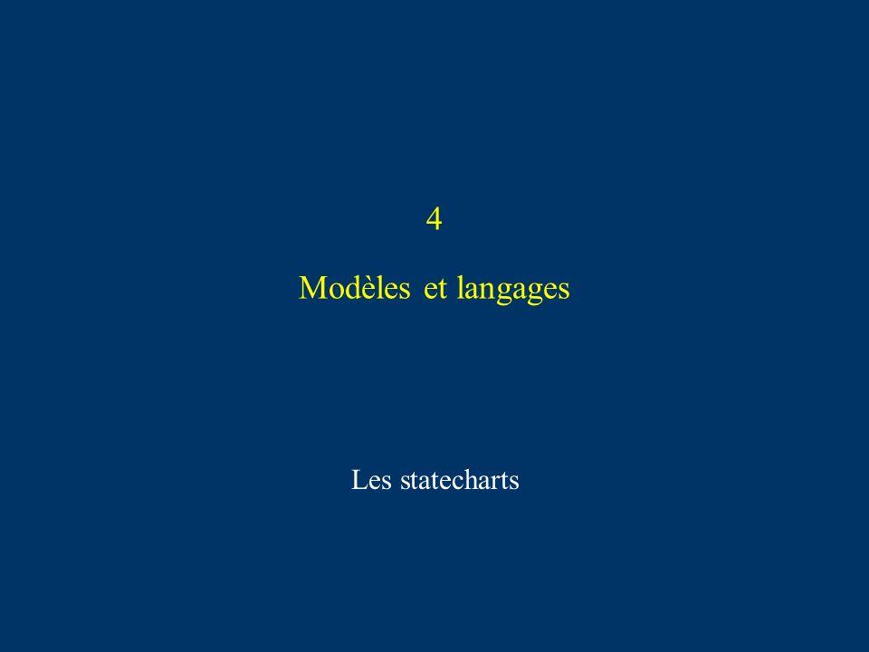 4 Modèles et langages Les statecharts