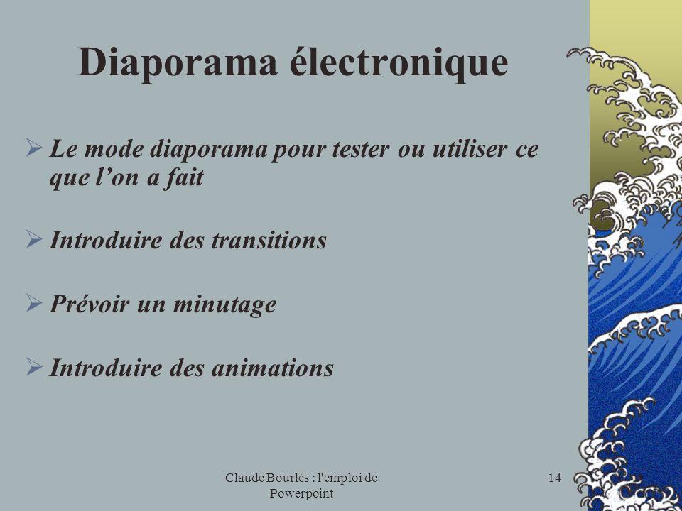 Diaporama électronique